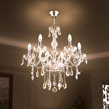chandelier and pendant lighting. Elegant Clear Crystal Chandelier Pendant Lighting 6 Lights Fixture Ceiling Lamp And