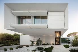 architectural home design. Modern Front Facade Of A Home Designed By Visioarq Architectural Design C