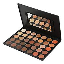 amazon kara beauty professional makeup palette es04 35 color bright natural eyeshadow beauty