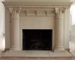 rhodes ancient fireplace mantel surround cast stone fireplace cast stone