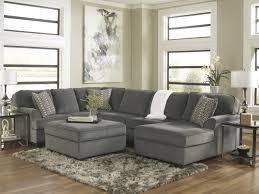 Oversized Living Room Furniture Sets Loric Smoke 4 Pc Living Room Set