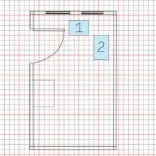 Graph Paper Draw How To Draw To Scale On Graph Paper 15661332000042 Drawing House