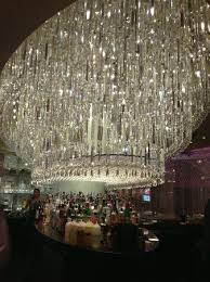 the chandelier inside the lounge at the bar the chandelier vegas s in vegas