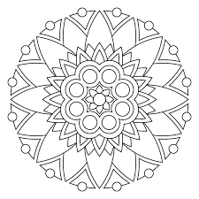 Free Printable Mandala Coloring Pages Imagine These Done On Fabric