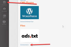 all publishers within their reporting console have access to a fully customized ads txt they can and save to the root folder of their