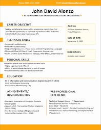 Resume For Freshers New Formatting Resume Lovely Copies Resume