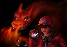 A fanart of Red I made based on the Detective Pikachu movie: pokemon