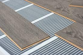 under floor heating with laminate