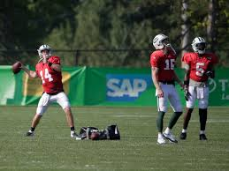 New York Jets Depth Chart 2018 Jets Qb Competition Could Last Through 4 Preseason Games