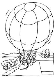 Kleurplaat Luchtballon Afb 6522 Images
