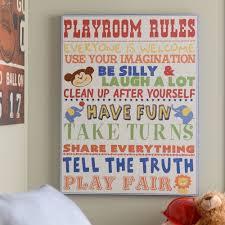 playroom canvas wall art