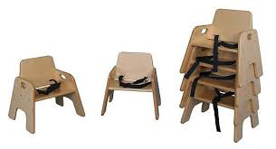 deluxe older toddler stack chair 8 h seat with strap strictlyforkids com
