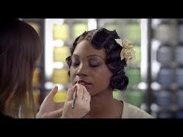 1930s makeup tutorial timelapse