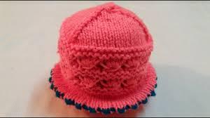 Topi Ka Design Dikhaye How To Make Woolen Cap Topi Design