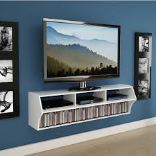 Floating Tv Stand Cabinet Cool White Floating Tv Stand For Modern Living Room