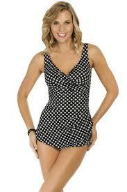Penbrooke Swimwear Size Chart Penbrooke Neutral Spot Adjustable Side Tie Fauxkini One