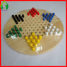 29cm round chinese checkers game board with wooden pegs chinese checkers chinese checkers board
