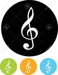 Treble Clef Music Treble Clef Music Vector Icon Royalty Free Cliparts Vectors And
