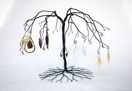 Willow Tree Display Stands Inspiration Willow Jewelry Tree Stand Jewellery Tree Display Sculptue Etsy