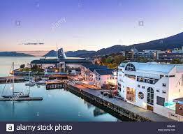 Der Hafen von Molde, Norwegen Stockfotografie - Alamy