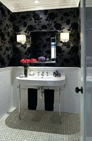 traditional white bathroom designs. Neat Cool Traditional Black And White Bathrooms Designs Bathroom Ideas Inspire . Small Tiles In Classic