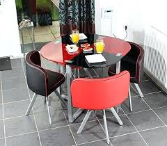 red and black kitchen table set dining table with four chairs set in black red round red and black kitchen table set black and red dining