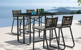 Brilliant Tall Outdoor Table Wood Tall Patio Table Google Search Outdoor Pub Style Patio Furniture