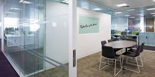 office glass walls. Squiggle Glass Products Office Walls