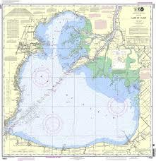 Noaa Chart 14850 Lake St Clair