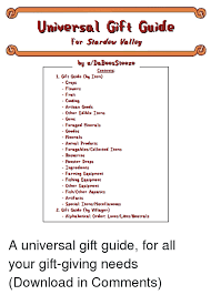 monster fish and flowers unversal gft guide for stardew valley by udabeesse contents
