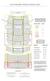 Lunt Fontanne Theatre Seating Chart Pricemaps And More