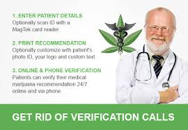 Verification Telehealth Marijuana Recommendations Software Patient And Medical -