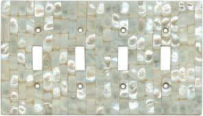 Decorative Light Switch Plates Mother Of Pearl Light Switch Plates Outlet Covers Wallplates