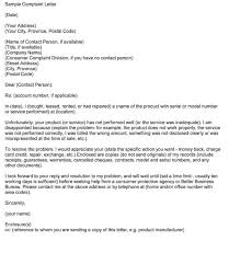 Complaint Format Extraordinary 48 Complaint Letter Templates Samples In Word PDF Format