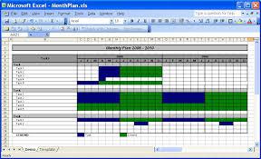 Officehelp Template 00030 Calendar Plan Month