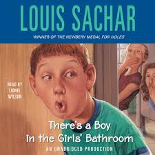 there s a boy in the girls bathroom audiobook by louis sachar