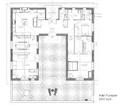 plans small adobe house plans hacienda style free