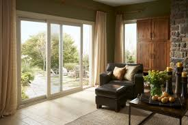 simonton sliding patio door interior view