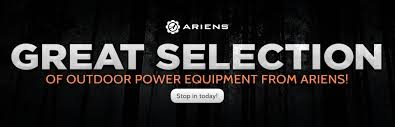 here to view our great selection of outdoor power equipment from ariens