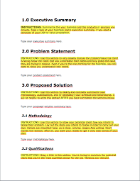 Business Proposal Template Business Proposal Template