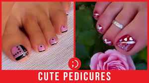 Cute Pedicure Designs Cute Toenail Diy Pedicure Designs That Beautify Toenails