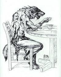 Werewolf Kleurplaat Kleurplaat Kleurplaten