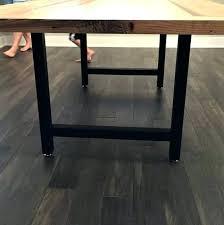 image 0 metal desk legs trestle table for h frame wooden