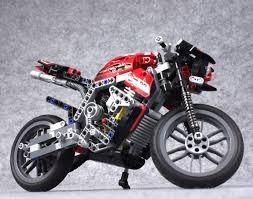 Motorcycle Display Stand 100% OFF New Arrival DECOOL DIY Building Blocks Motorcycle Display 97