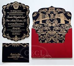 Baroque Wedding Invitations Luxury Wedding Invitations By Ceci New York Our Muse Opulent