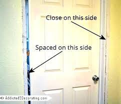 exterior door framing replace exterior door jamb how to replace an interior door frame replacement door