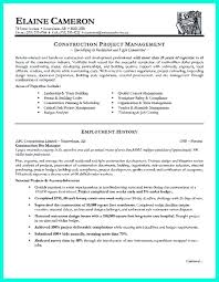 Sample Resume Construction Project Manager Colleges Reaction To Grammar Errors In Essays College