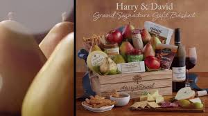 grand signature gift basket by harry david