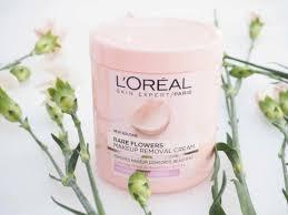 paris rare flowers makeup removal cream