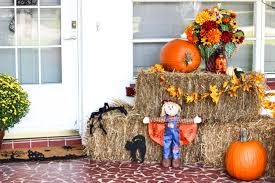 Front Porch Fall Decorations